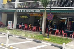 ATTACK: Lim Yeow Heng attacked Mr Tan Kah Chee with a mixture of soda powder and water at this coffee shop last April.