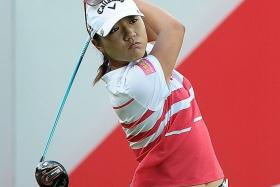 GOOD START: Lydia Ko (above) and Park Inbee are satisfied with their first-round performance.