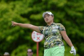 """""""Swing feels no good, right now but scoring well. I have no idea. I just try straight, straight, straight."""" — South Korean Lee Mi Rim, the joint-leader with compatriot Jang Ha Na (above)"""