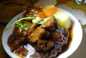 DELICIOUS: Oxtail Stew.
