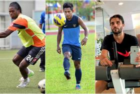 From left: Patrick Ronaldinho Wleh, Andik Vermansyah and Mauro Olivi are three Selangor FA players the Stags will have to look out for.