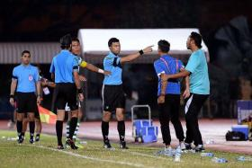 1) YOU'RE OFF: 