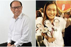 Mr David Ong had allegedly been involved with Ms Wendy Lim (right).