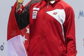 VERSATILE: Quah Zheng Wen won 12 medals in all events except the breaststroke at last year's South-east Asia Games.