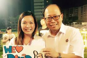 SUDDEN EXIT: Mr David Ong quit his Bukit Batok MP position last Saturday. He is said to be involved in an extramarital affair with grassroots activist Wendy Lim (above).