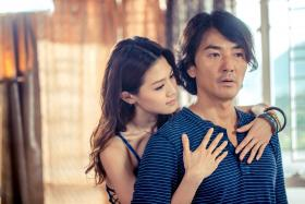 COZY: Chrissie Chau and Ekin Cheng share intimate scenes in new movie iGirl.