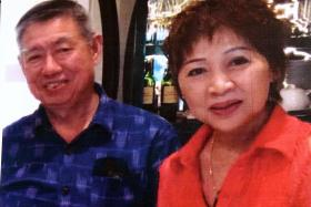 ACCUSED: Ong Choon Lin and his wife Ng Kim Yew allegedly cheated six victims of over $650,000 by promising them various talismans.
