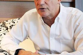 TO COME: Valencia's commercial and marketing director Peter Draper (above) says they are introducing several initiatives in Singapore, including setting up a football school.
