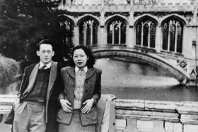Mr Lee Kuan Yew and his wife Kwa Geok Choo at Cambridge in 1948
