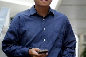 CHARGED: Goh Wee Hong, a former Singapore Civil Defence Force Lieutenant-Colonel, allegedly harassed a woman on several occasions last August.