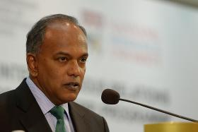 """""""For visitors (to events, malls or other premises), there will be more inconvenience. we will all need to get used to more security and bag checks prior to entry. But I believe that our people will understand and accept the need for these measures."""" - Home Affairs Minister K. Shanmugam"""