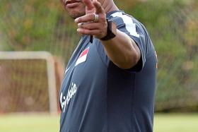I'm standing here with open arms, I'll be willing to accept whatever they decide. — Fandi Ahmad (above)