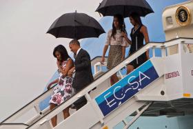 President Barack Obama makes a historic visit to Cuba, the first time in 88 years that a sitting US president has visited the country.