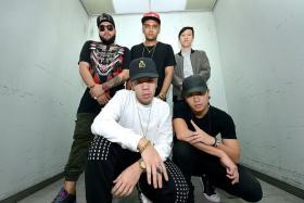 COLLABORATORS: (From top left) Shorya Sharma, DJ NashD, DJ Lenerd, The Zadon and Shigga Shay.