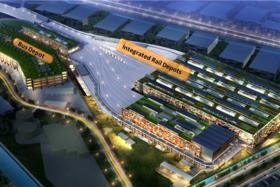 Artist's impression of the East Coast Integrated Depot.