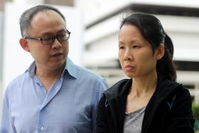 ABUSED: Madam Gawidan worked for (above, from left) Lim Choon Hong and Chong Sui Foon for 15 months.