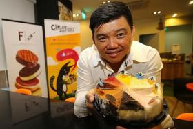 SMART: Chef Daniel Tay makes use of automation to help with the productivity of his food supplying company, Foodgnostic.
