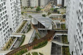INNOVATION: The Treelodge@Punggol was the first HDB project to benefit from the UEM tool.