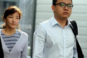 IN COURT: Yang Kaiheng and his wife Ai Takagi.