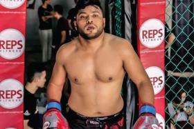 CUTTING HIS TEETH: Rafi Majid (above) is eagerly anticipating his debut professional fight against Indonesian Bub Kalbar this evening.