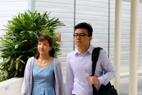 A witness said Yang Kaiheng (right) wanted to use the money he made from The Real Singapore for a bungalow and car.
