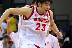 IN DEMAND: Delvin Goh (above) represents a big breakthrough for Singapore basketball.