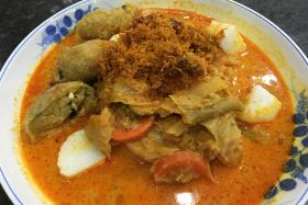 Lontong from Glory Catering
