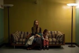 CHALLENGING: Michael Fassbender plays Steve Jobs while Katherine Waterston plays Jobs' ex-girlfriend Chrisann Brennan.