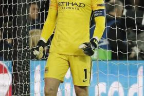 Two away goals is great, hopefully we make them count. We are making history for this club and we don't want it to end. I am proud of the back four tonight. — Man City's Joe Hart (above)