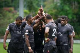 """""""Pressure does make people crumble sometimes. No matter how you practise and rehearse it, you can never replicate what it's like when you are in a medal match at the Olympics. But if any team are used to this pressure on a daily basis, it's us."""" — Coach Ben Ryan on Fiji's (above) bid to win the Olympic gold in Rio"""