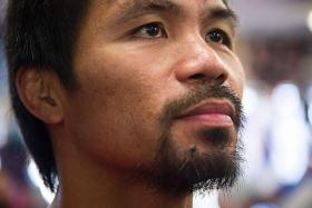 A rags-to-riches story. A kid from the streets of the Philippines, lived in a cardboard shack, worked his way up, comes to the United States... Becomes one of the biggest fighters of our time. — Boxing promoter Bob Arum on Manny Pacquiao's (above) story