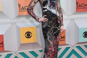 Nicole Kidman attends the 51st Academy of Country Music Awards at MGM Grand Garden Arena on  in Las Vegas, Nevada.