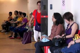 POPULAR: Thong Chai Medical Institution's Ang Mo Kio clinic sees 300 to 400 patients daily.