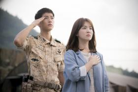Descendants of the Sun is airing its final episode on April 14. Here are some swoon-worthy moments from the popular drama so far.