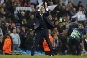 DE RIGHT CHOICE: The decision by Man City manager Manuel Pellegrini (above) to play Kevin de Bruyne in the centre, instead of on the flanks, is being hailed as a masterstroke.