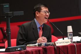 Associate Professor Eugene Tan.