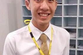 KILLED: Mr Kelvin Gan Teck Xiang died five days after the attack by Jeron Liew Wei Jie.
