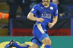 THINKING MAN: Shinji Okazaki's intelligent runs frequently create space for Leicester strikers to exploit.