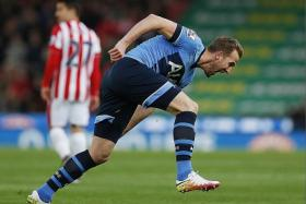 24: Harry Kane (above) has scored more league goals than Aston Villa (23) this season.