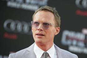 SUPER POWERFUL: Paul Bettany (above) plays the omnipotent Vision in Captain America: Civil War.