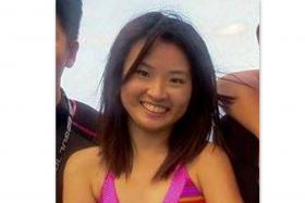 Miss Vera Neo Qiu Ping (above) who went missing on Sunday. Her body was found on Monday morning.