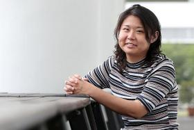 INDEPENDENT: Despite skipping classes for dialysis treatment, Miss Yu Xin Yi kept up with her work through self-study.