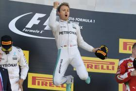 Nico Rosberg.