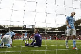 Manchester City have not won an EPL match they've been losing at half-time since April 1995. They have lost 79 of the games and drawn 11.