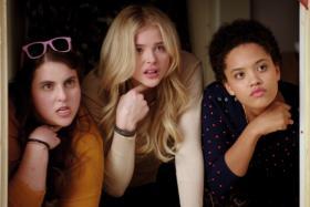 PARTY GIRLS: Chloe Grace Moretz (centre) in Bad Neighbours 2.