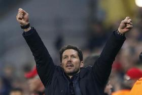 It doesn't matter who we play in the final. i'm proud of what has happened to this club. We are beating the best teams in the world. — Atletico coach Diego Simeone (above)