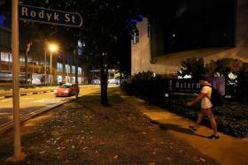 SCENE OF THE ATTACKS: (Rape #1) Watermark condominium.