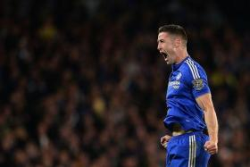 KING-MAKERS: Gary Cahill and his Chelsea teammates denied Tottenham Hotspur the title on Tuesday and could strike a blow to Sunderland's survival hopes tonight.