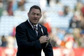 A CASE FOR DEFENCE: Sunwolves coach Mark Hammett (above) knows his team are not holding opponents out.