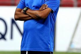 Tampines coach V Sundramoorthy.